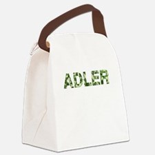 Adler, Vintage Camo, Canvas Lunch Bag