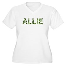 Allie, Vintage Camo, T-Shirt