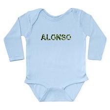 Alonso, Vintage Camo, Long Sleeve Infant Bodysuit