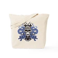 Blue Skull.png Tote Bag
