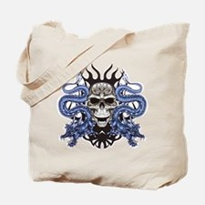Blue Skull.png Tote Bag