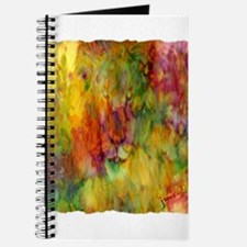 tie dye colorful lion art illustration Journal