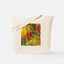 tie dye colorful lion art illustration Tote Bag