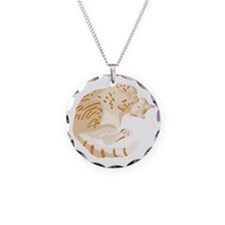 Lily sleeping Necklace