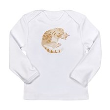 Lily sleeping Long Sleeve Infant T-Shirt