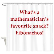 math joke Shower Curtain