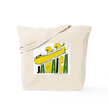 Jamaica Bobsled Tote Bag