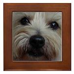 The Soul of a Terrier Framed Tile