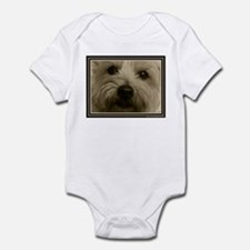 The Soul of a Terrier  Infant Bodysuit