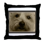 The Soul of a Terrier  Throw Pillow