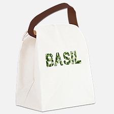 Basil, Vintage Camo, Canvas Lunch Bag