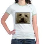 The Soul of a Terrier  Jr. Ringer T-Shirt