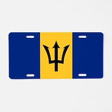Flag of Barbados Aluminum License Plate