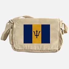 Flag of Barbados Messenger Bag