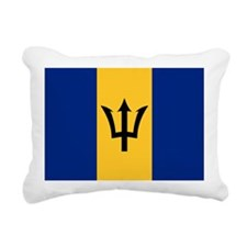 Flag of Barbados Rectangular Canvas Pillow