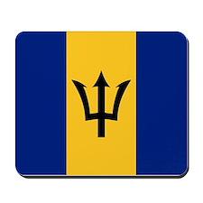 Flag of Barbados Mousepad