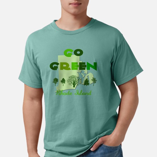 Go Green Rhode Island.pn Mens Comfort Colors Shirt
