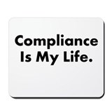 Compliance officer Classic Mousepad