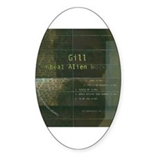 Gill Oval Decal