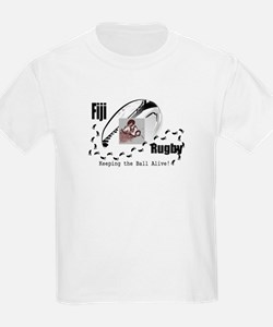 Fiji Rugby_Keeping the ball alive_ Kids T-Shirt