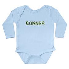 Bonner, Vintage Camo, Long Sleeve Infant Bodysuit