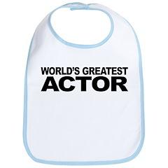 Worlds Greatest Actor Bib