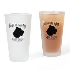 Unique Cane corso Drinking Glass