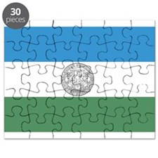 Flag of Jämtland Puzzle