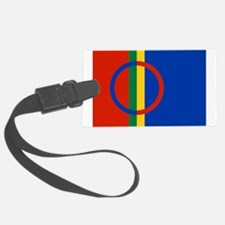 Flag of Sámi land Luggage Tag
