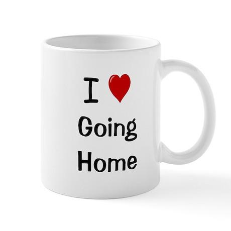 I Love Going Home Ultimate Motivational Mug