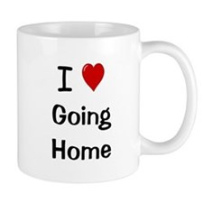I Love Going Home Ultimate Motivational Mug