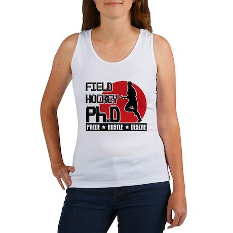Field Hockey Ph.D Women's Tank Top
