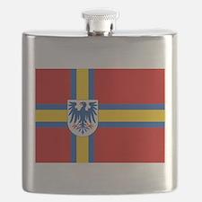 Flag of Värmland Flask