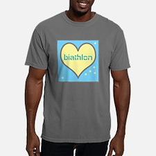 LOVE BIATHLON Mens Comfort Colors Shirt