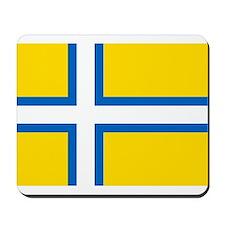Flag of Västergötland Mousepad