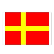 Flag of Skåne Postcards (Package of 8)