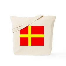Flag of Skåne Tote Bag