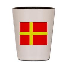 Flag of Skåne Shot Glass