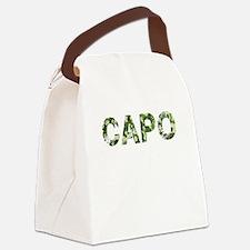 Capo, Vintage Camo, Canvas Lunch Bag