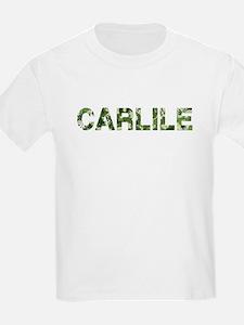 Carlile, Vintage Camo, T-Shirt