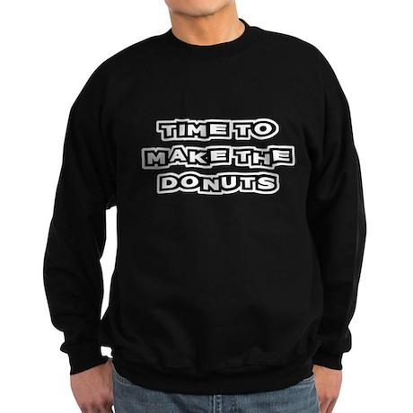 Make The Donuts Sweatshirt (dark)