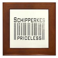 Schipperkes Framed Tile