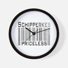 Schipperkes Wall Clock