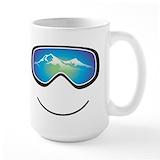 Skiing Large Mugs (15 oz)