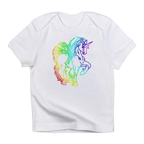 Rainbow Unicorn Infant T-Shirt