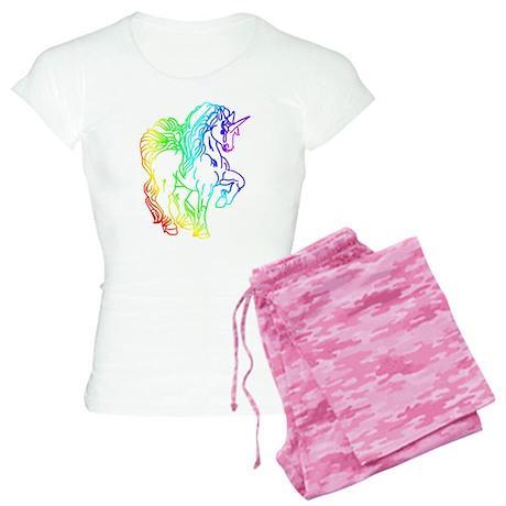 Rainbow Unicorn Women's Light Pajamas