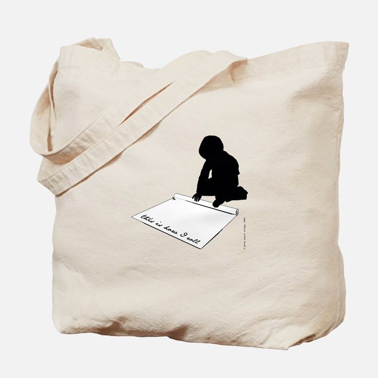 Cute That%2527s how i roll Tote Bag