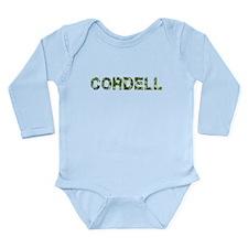 Cordell, Vintage Camo, Long Sleeve Infant Bodysuit