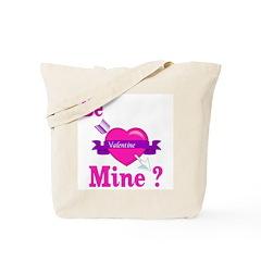 Be Mine Valentine Tote Bag