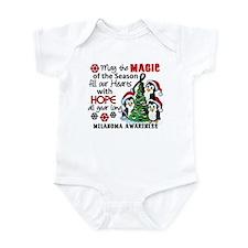 Holiday Penguins Melanoma Infant Bodysuit